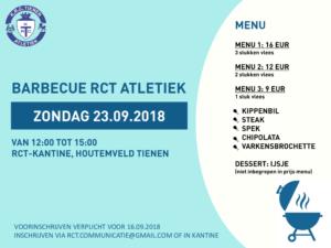Barbecue RCT Atletiek