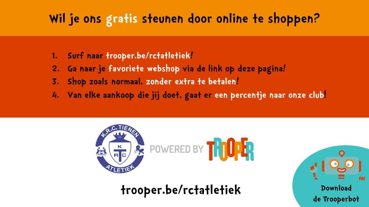 Steun ons gratis door te shoppen!