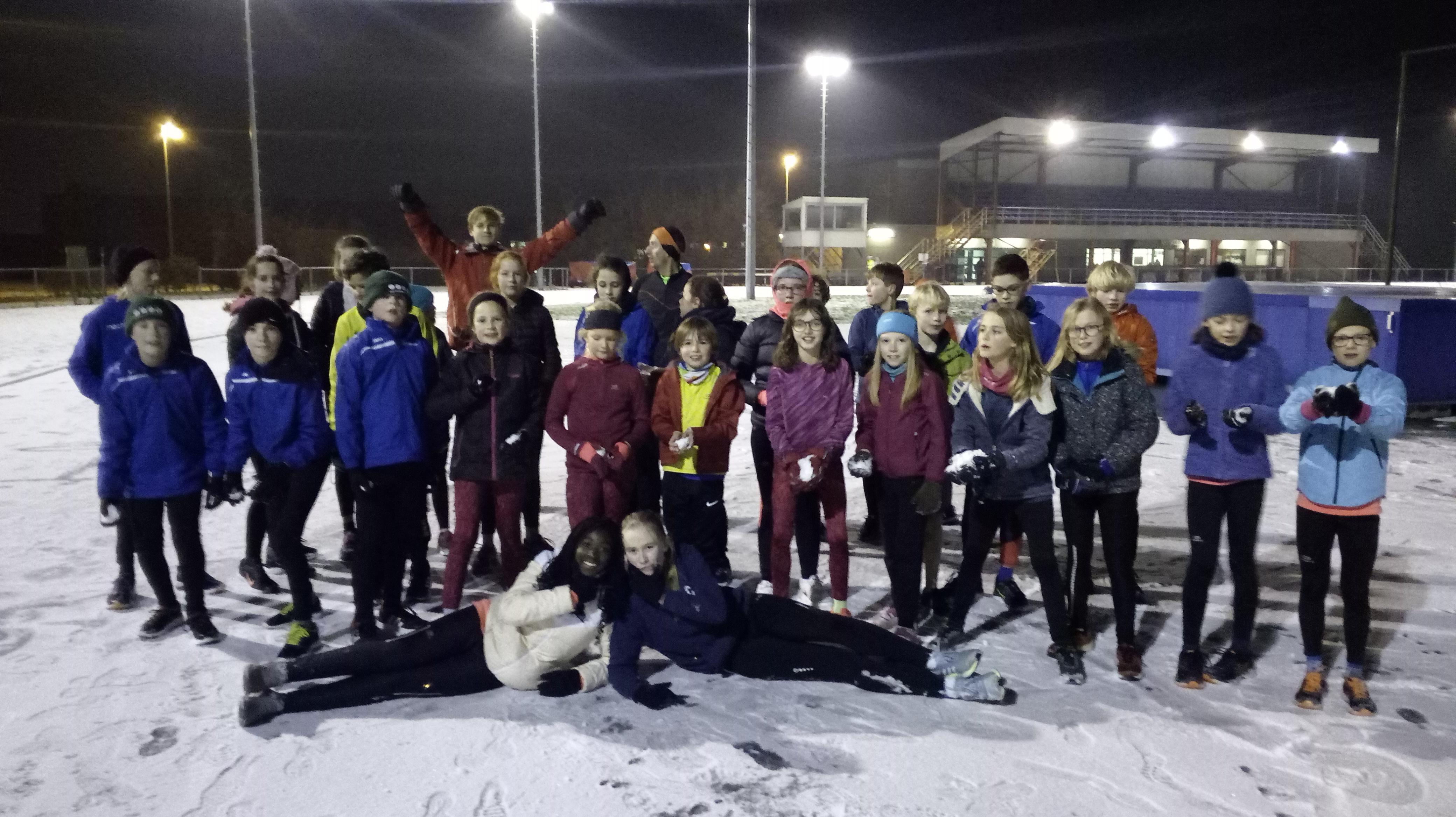 Trainingsuren jeugd tijdens kerstvakantie