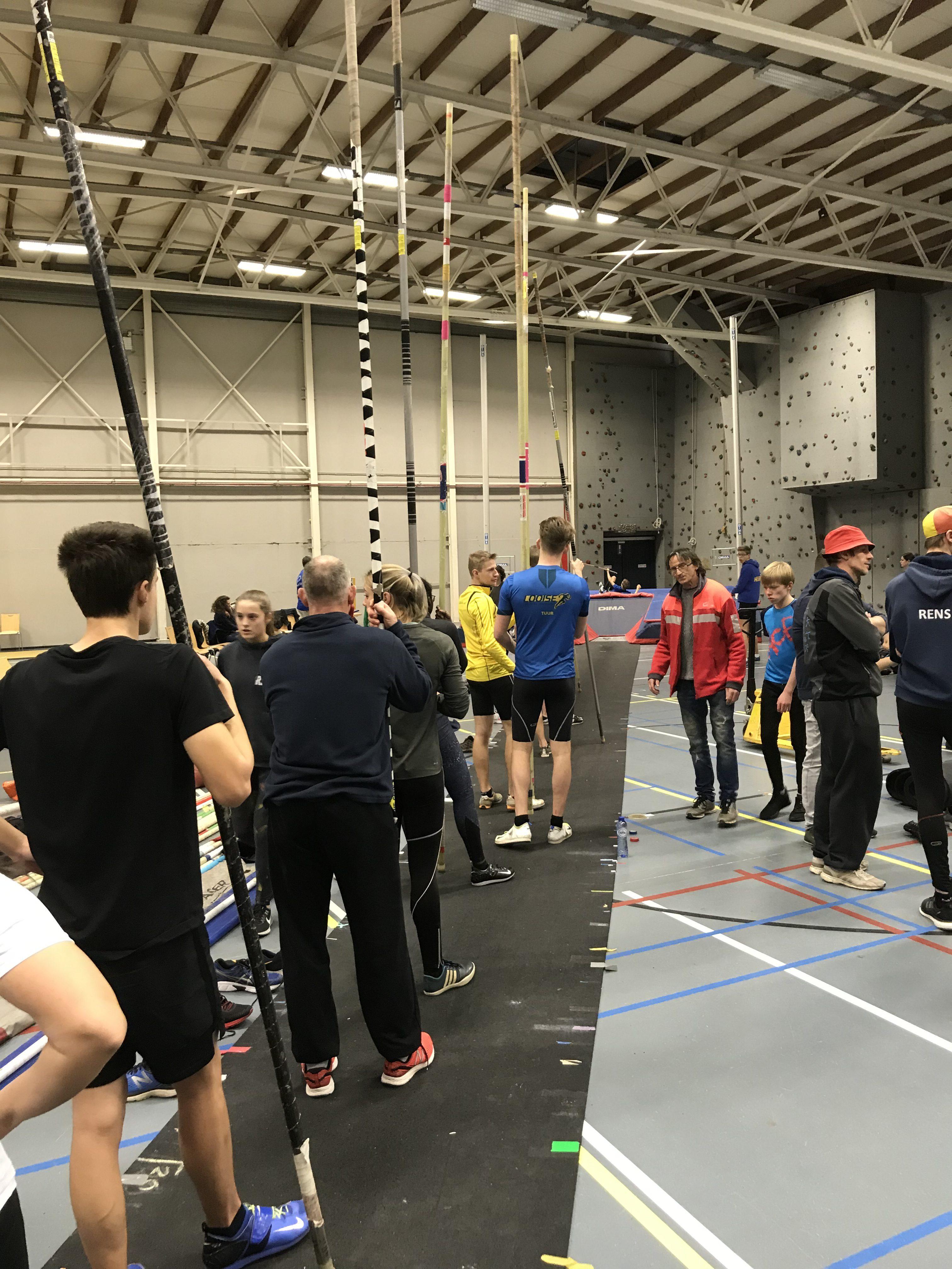 RCT Atletiek open indoormeeting met jeugd, 09/02/2019