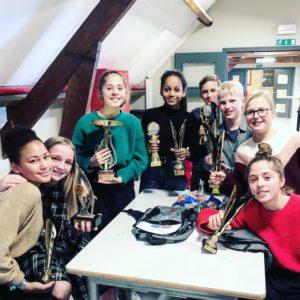 RCT Atletiek valt in de prijzen tijdens uitreiking VVBO trofeeën, Erps-Kwerps, 16/11/2019